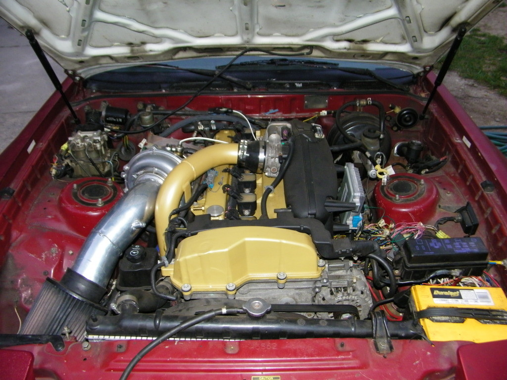 Toyota Supra With A Turbocharged Vortec I X on Toyota 30 Built Engine