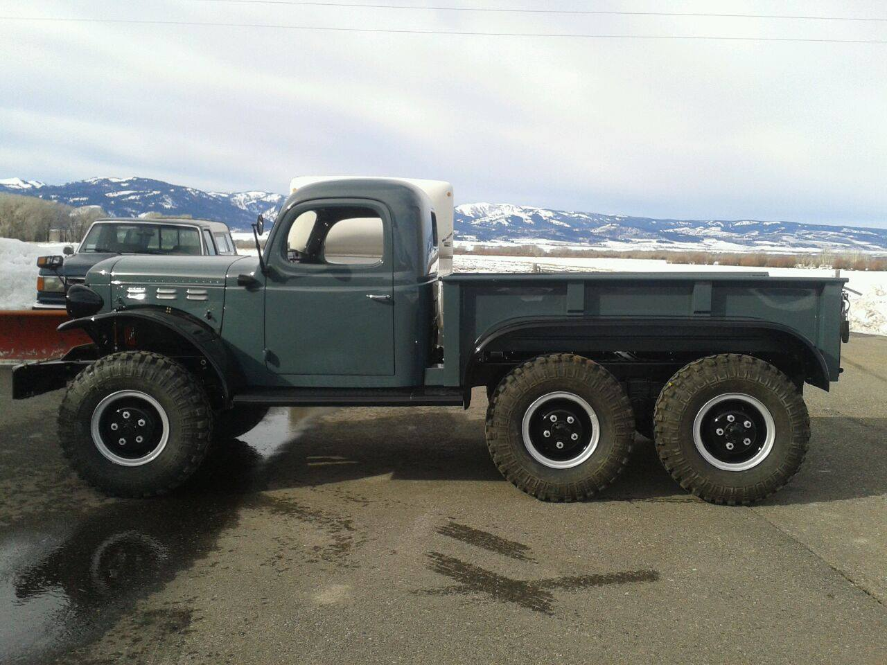 1942 Dodge Power Wagon With A Cummins 4bt Engine Swap Depot 350 Chevy Wiring Diagram Related Keywords Suggestions Turbo Diesel