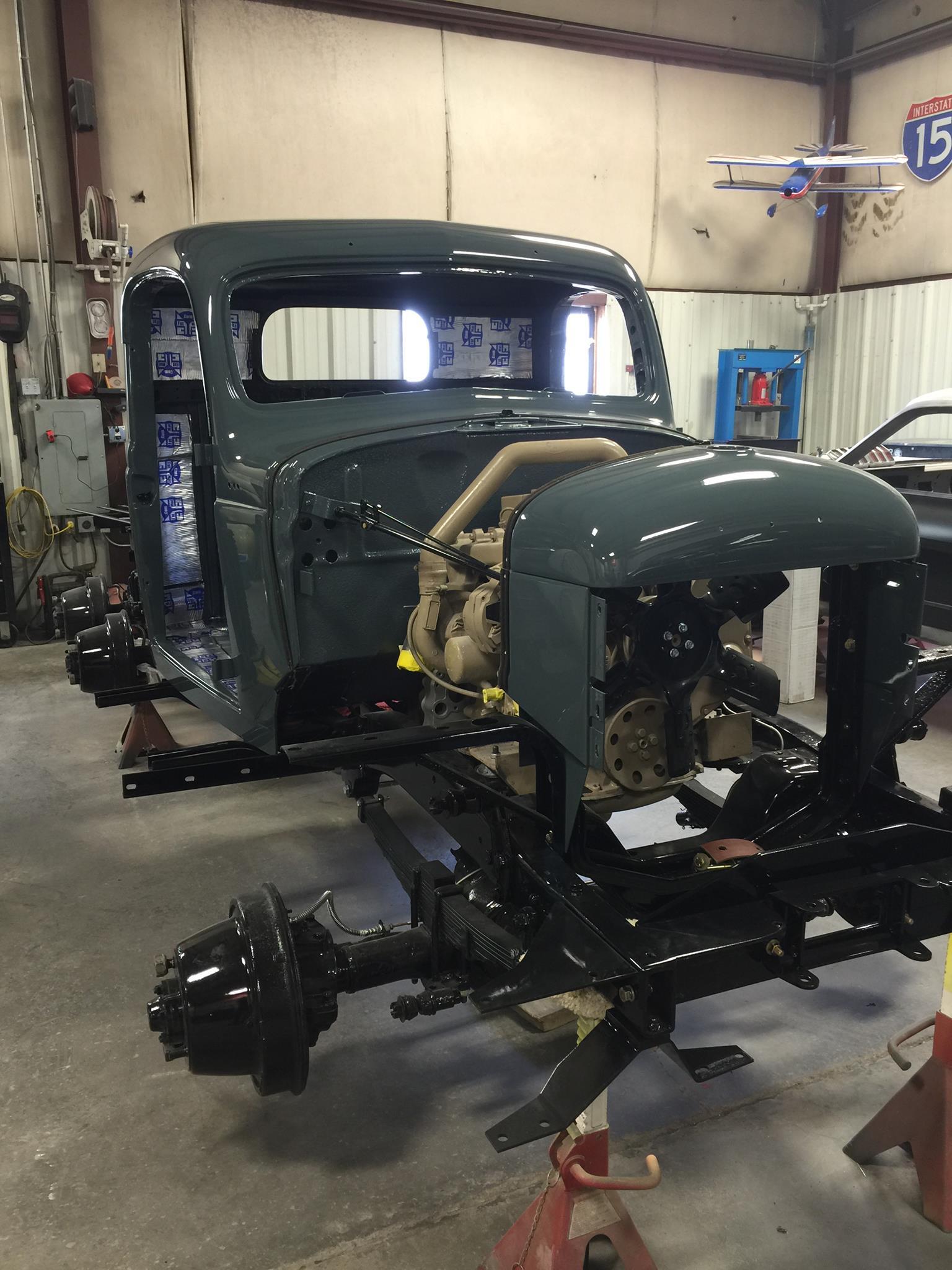 1942 Dodge Power Wagon With A Cummins 4bt  U2013 Engine Swap Depot