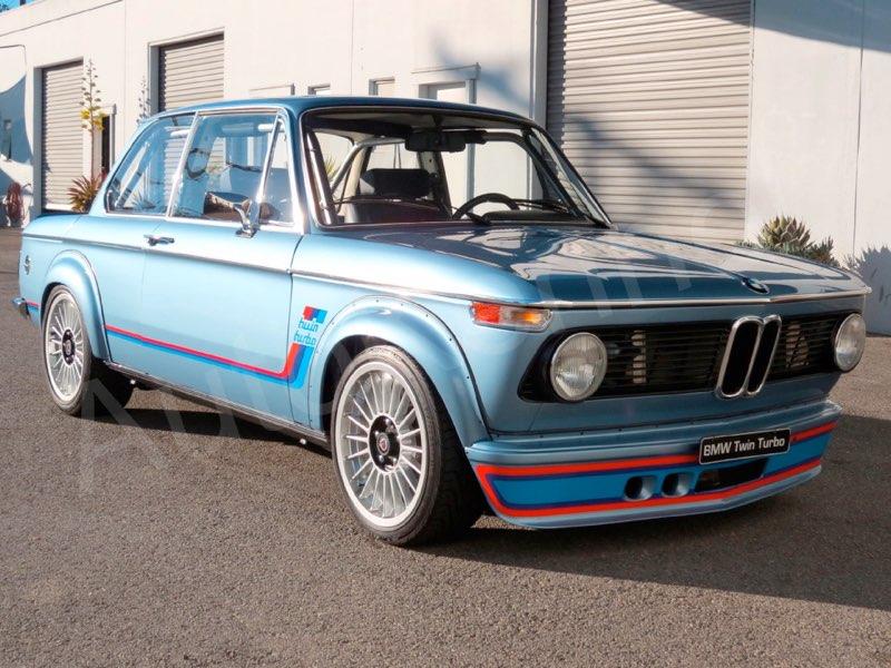 1972 BMW 2002 with a Twin-turbo M54 I6