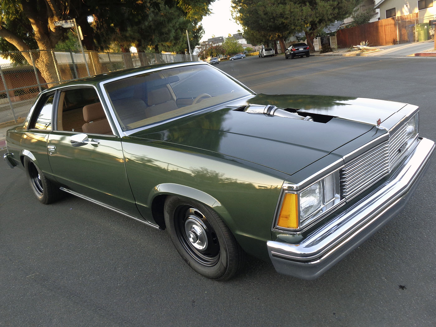 For 1980 Chevy Malibu With A Turbo Lsx
