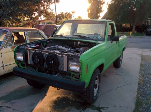 1988 Ford Ranger with a RB20DET