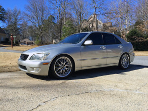 2001 Lexus IS300 with a LS3