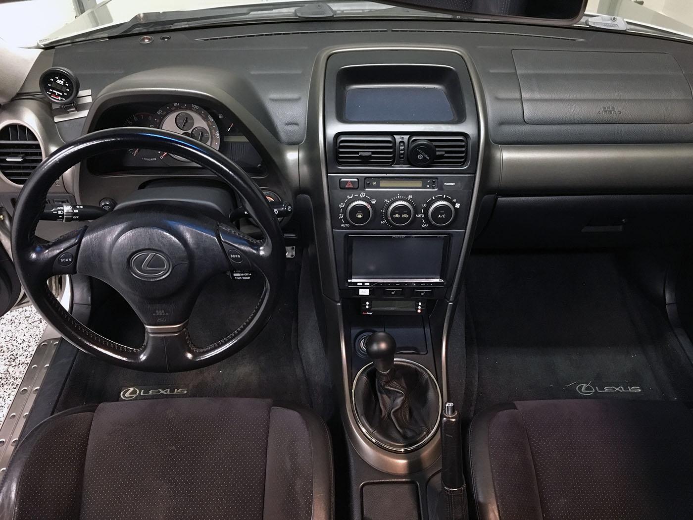 lexus is350 manual transmission swap