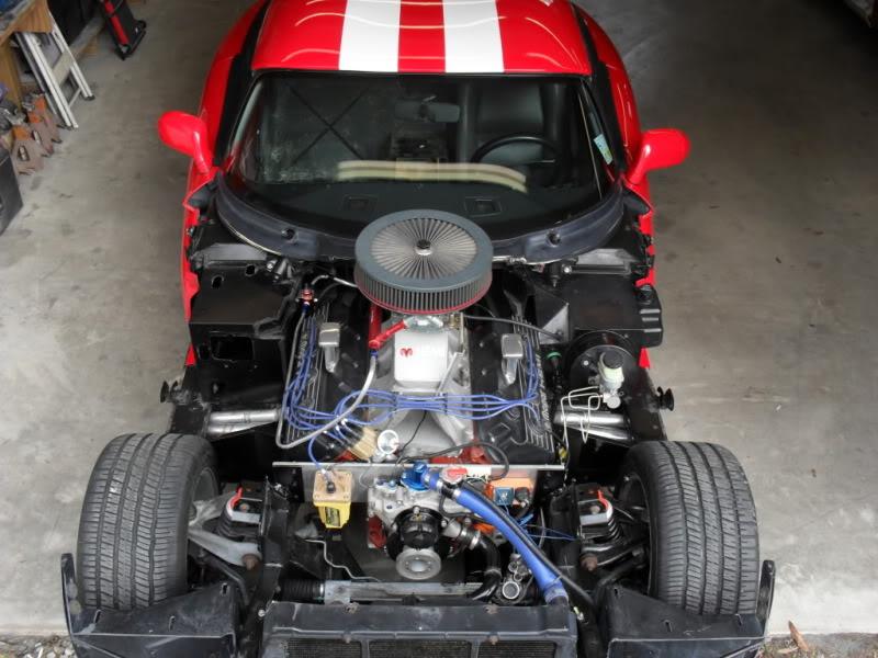 528 ci HEMI V8 powered Red 1994 RT Viper