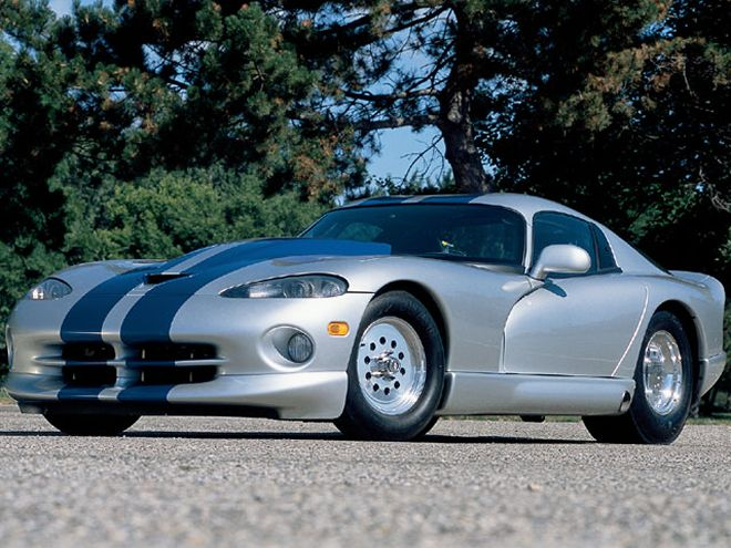 Bill Adams 1998 Dodge Viper GTS with a Chrysler 426 Hemi stroked to 588 ci