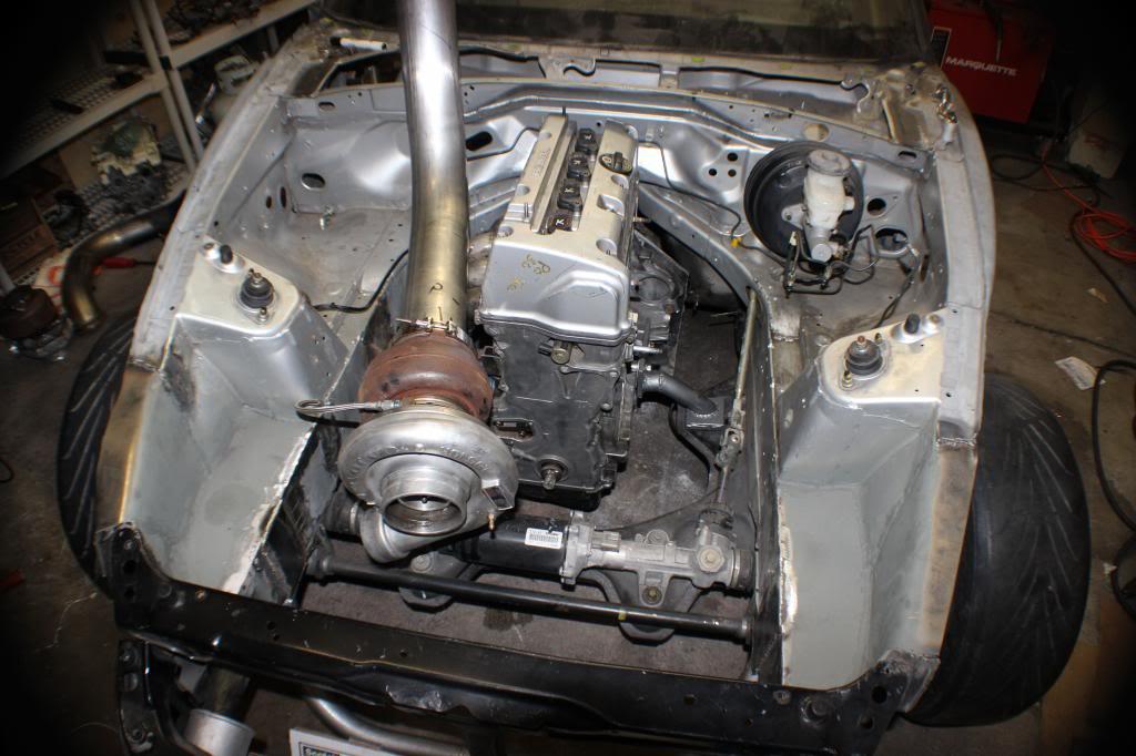 honda    turbo  engine swap depot