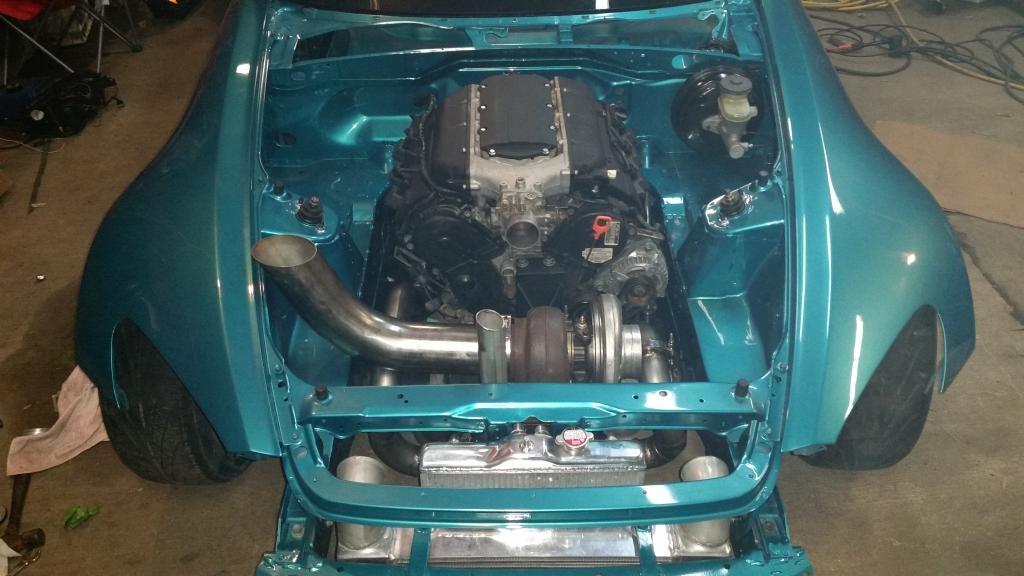 Chris Boyette's Honda S2000 with a turbocharged J32