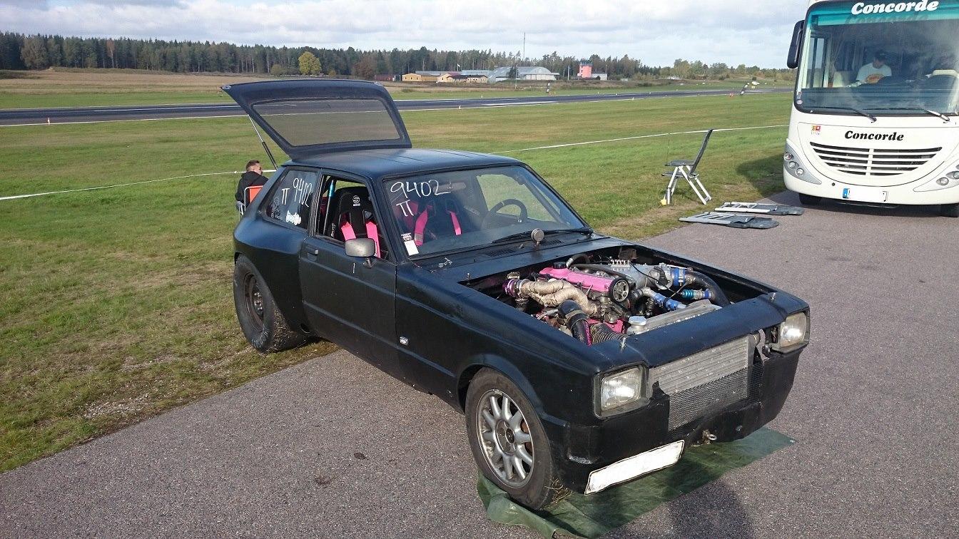 Custom Toyota Starlet with a Turbo Volvo B230 – Engine Swap Depot