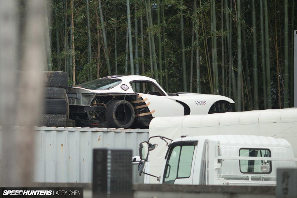 Daigo Saito's Nascar powered Viper