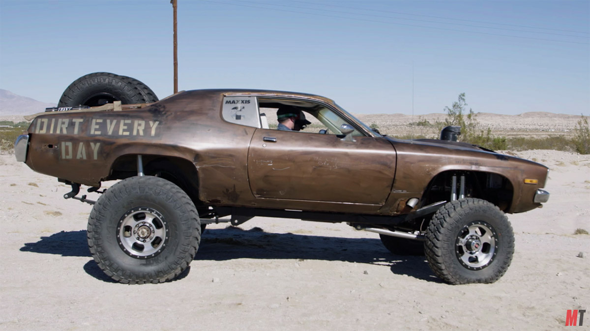 Dirt Every Day 1973 Plymouth Road Runner with a Cummins V8
