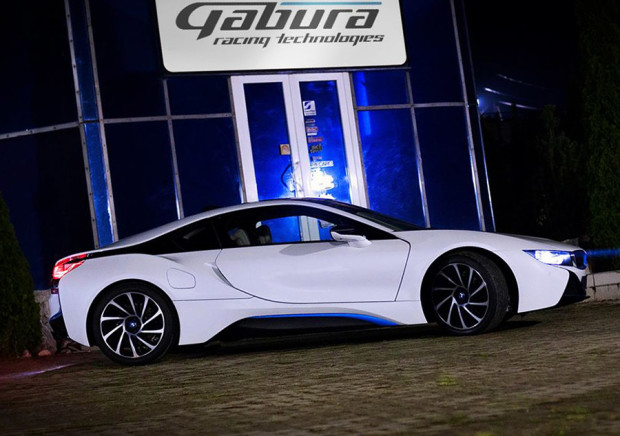 Gabura Racing Technologies BMW i8 with a Twin-turbo S63 V8
