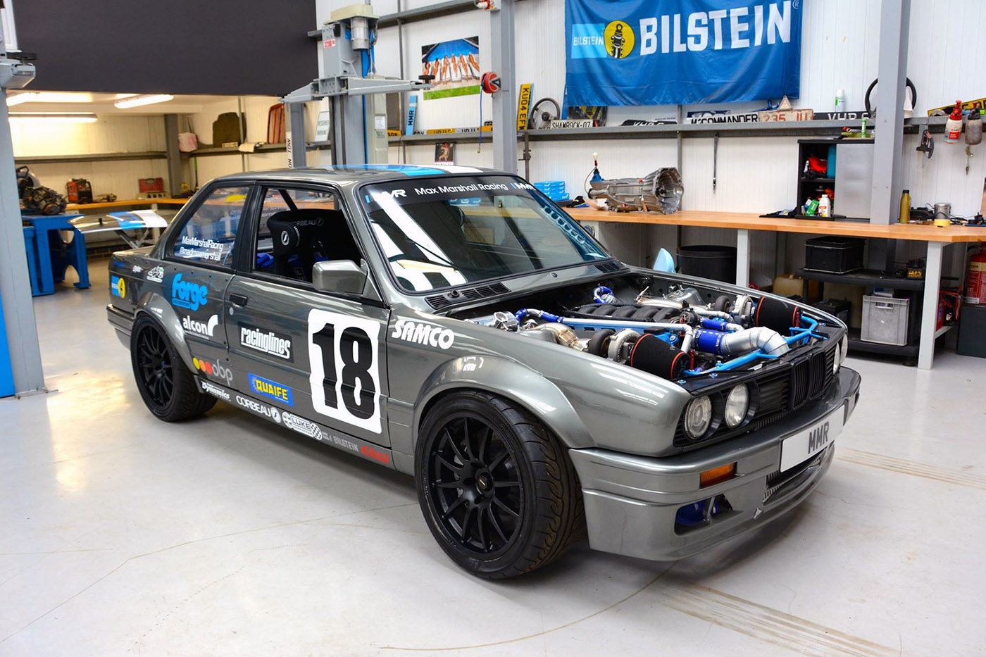 Bmw E30 With A Twin Turbo M60 Engine Swap Depot