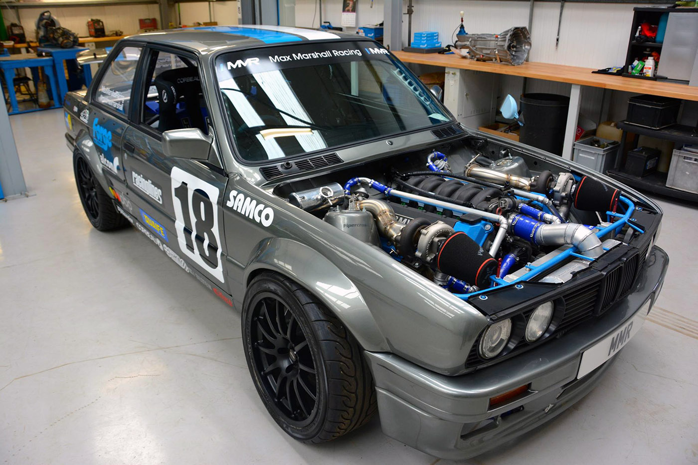 bmw    twin turbo  engine swap depot