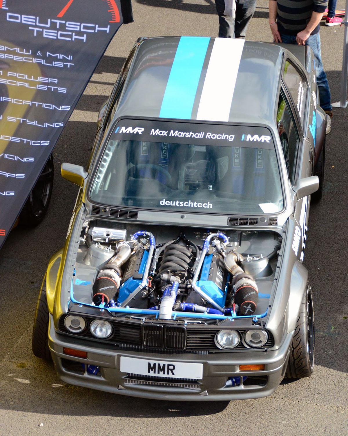 Bmw E30 With A Twin Turbo M60 Engine Swap Depot