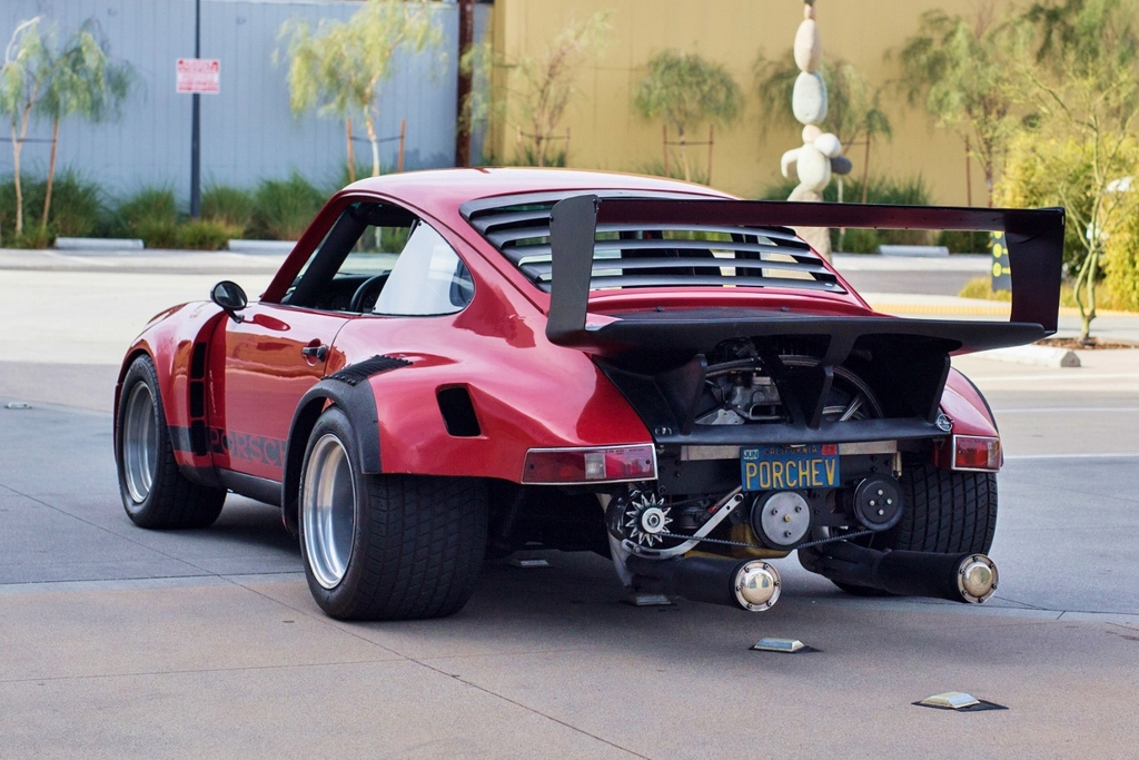 For Sale The First V8 Swapped Porsche In The World