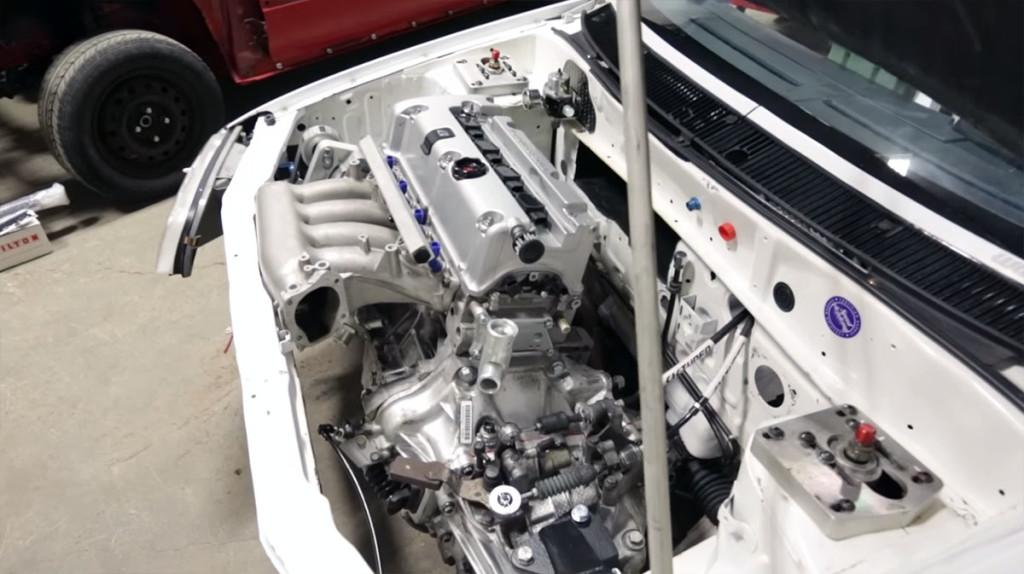 Kevin Stittle's Suzuki Swift with a 2.0 L K20