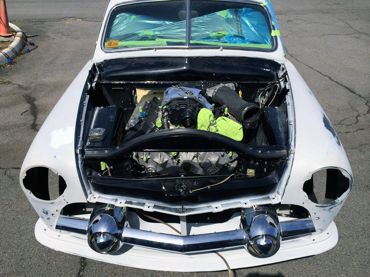 1951 Ford Club Coupe With A Supercharged 5 4 L V8  U2013 Engine Swap Depot