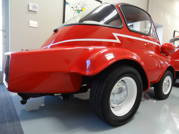 BMW Isetta with a Corvair Engine