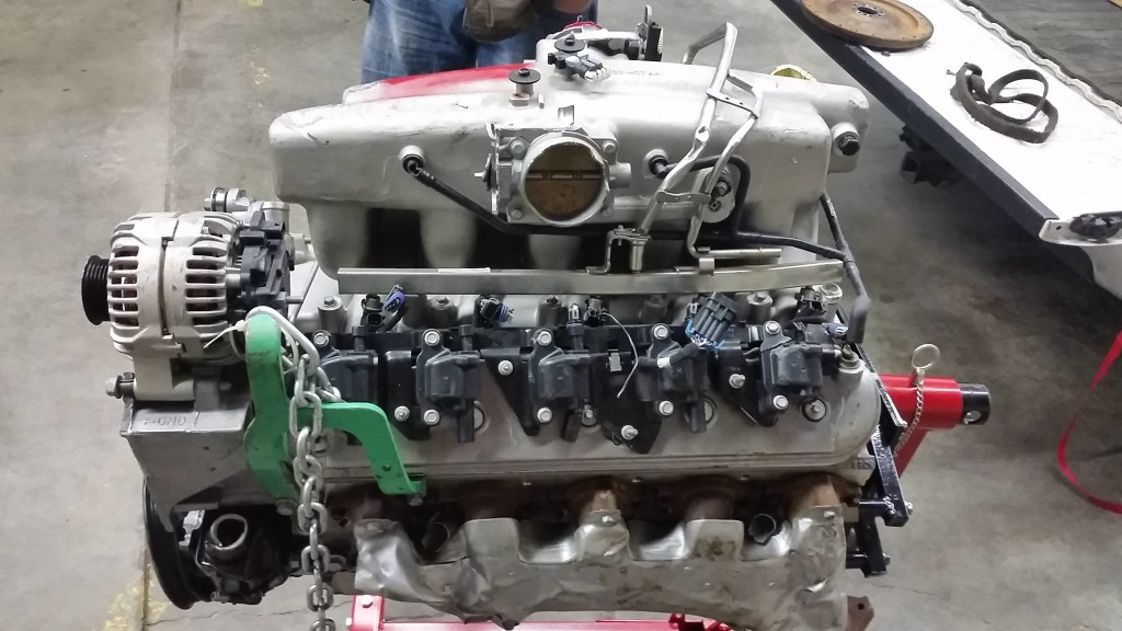 GM prototype 7.5 L  LSx V10