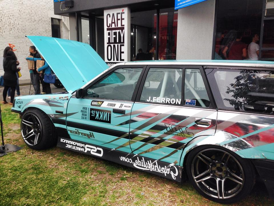 Nissan R31 Skyline Wagon with a 1JZ