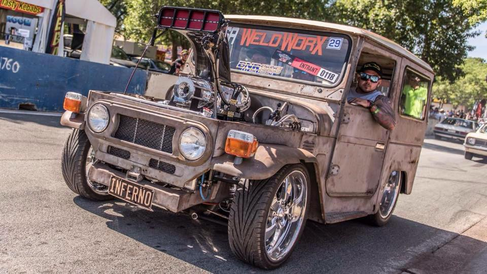 Toyota Fj40 With A Supercharged Big