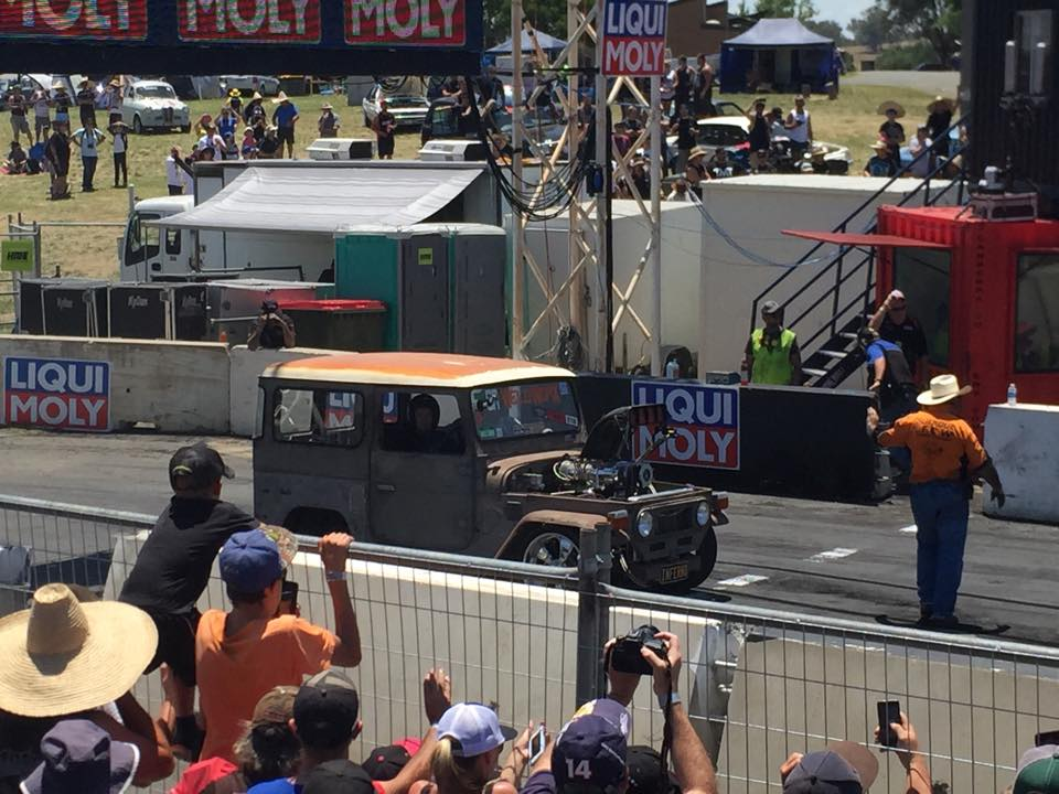 Toyota FJ40 with a Supercharged 510 ci Big-block Chevy V8