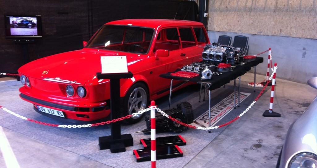 VW 412 with a Porsche 3.2 L 911 Engine