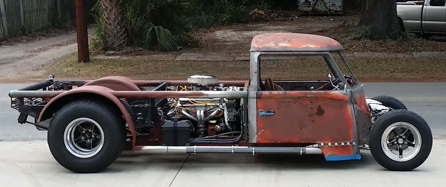 Vw Type 2 Hot Rod With A Mid Engine V8 Engine Swap Depot