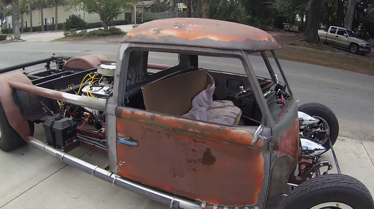 VW Type 2 Hot Rod with a Mid-engine V8 – Engine Swap Depot