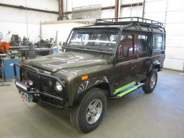 1993 Land Rover NAS Defender with a LS3