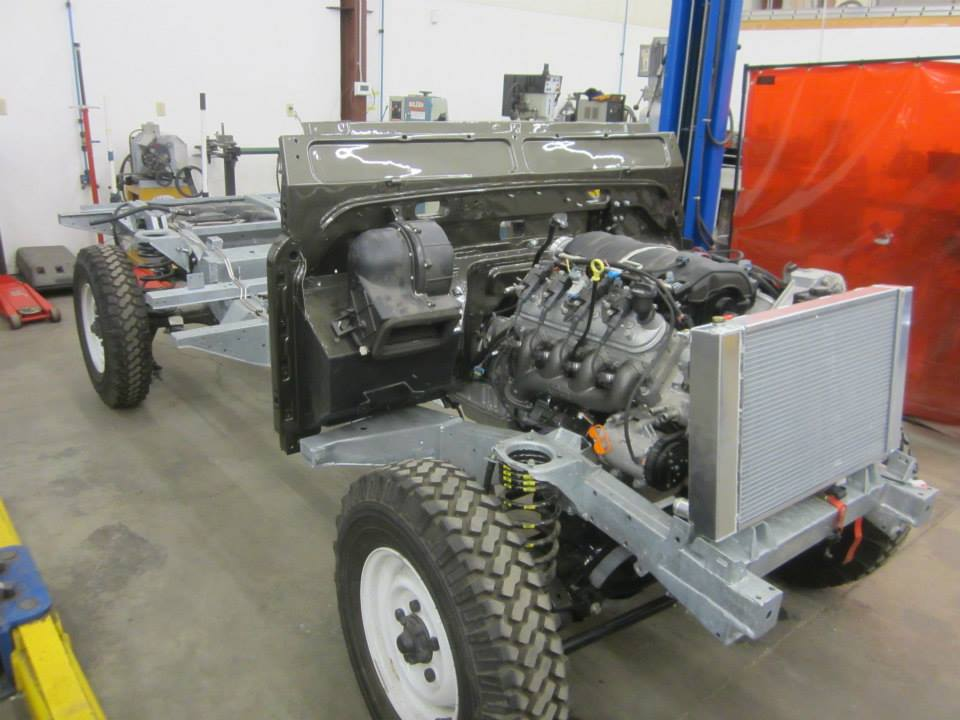 Land Rover Defender Paint Job >> 1993 Land Rover Defender with a LS3 – Engine Swap Depot