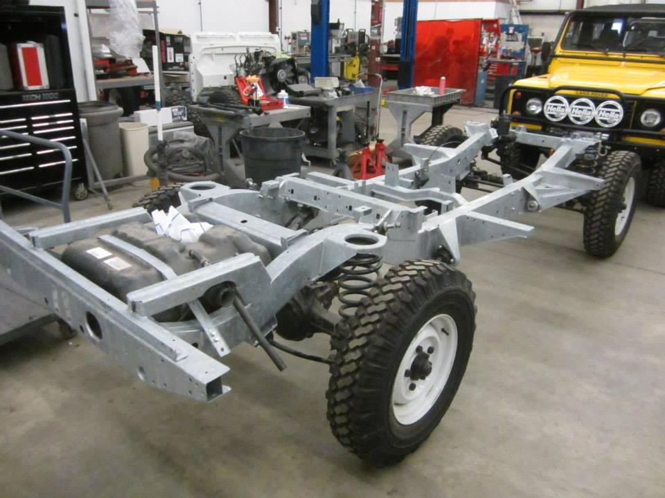 Land Rover Defender Automatic >> 1993 Land Rover Defender with a LS3 – Engine Swap Depot