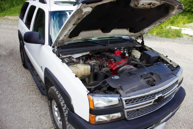 2004 Chevy Tahoe with a Cummins 4BT turbo diesel inline-four