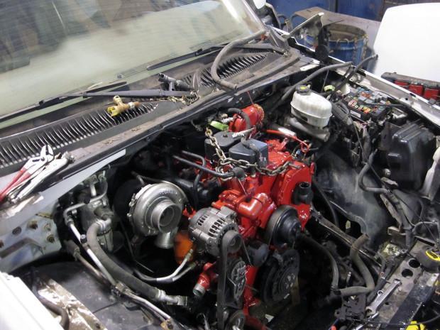 2004 Chevy Tahoe with a Cummins 4BT turbo diesel inline-four