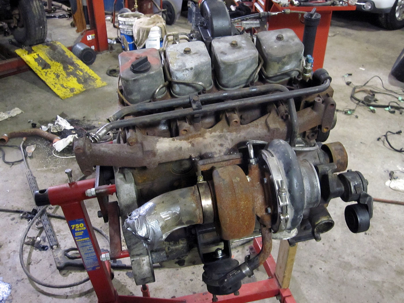 Tahoe 2002 chevy tahoe engine : 2004 Chevy Tahoe with a Cummins 4BT – Engine Swap Depot