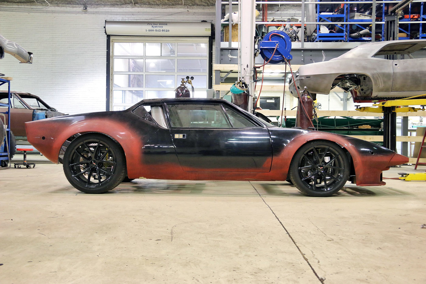 Building A Pantera With A Twin Turbo 428 Windsor Engine