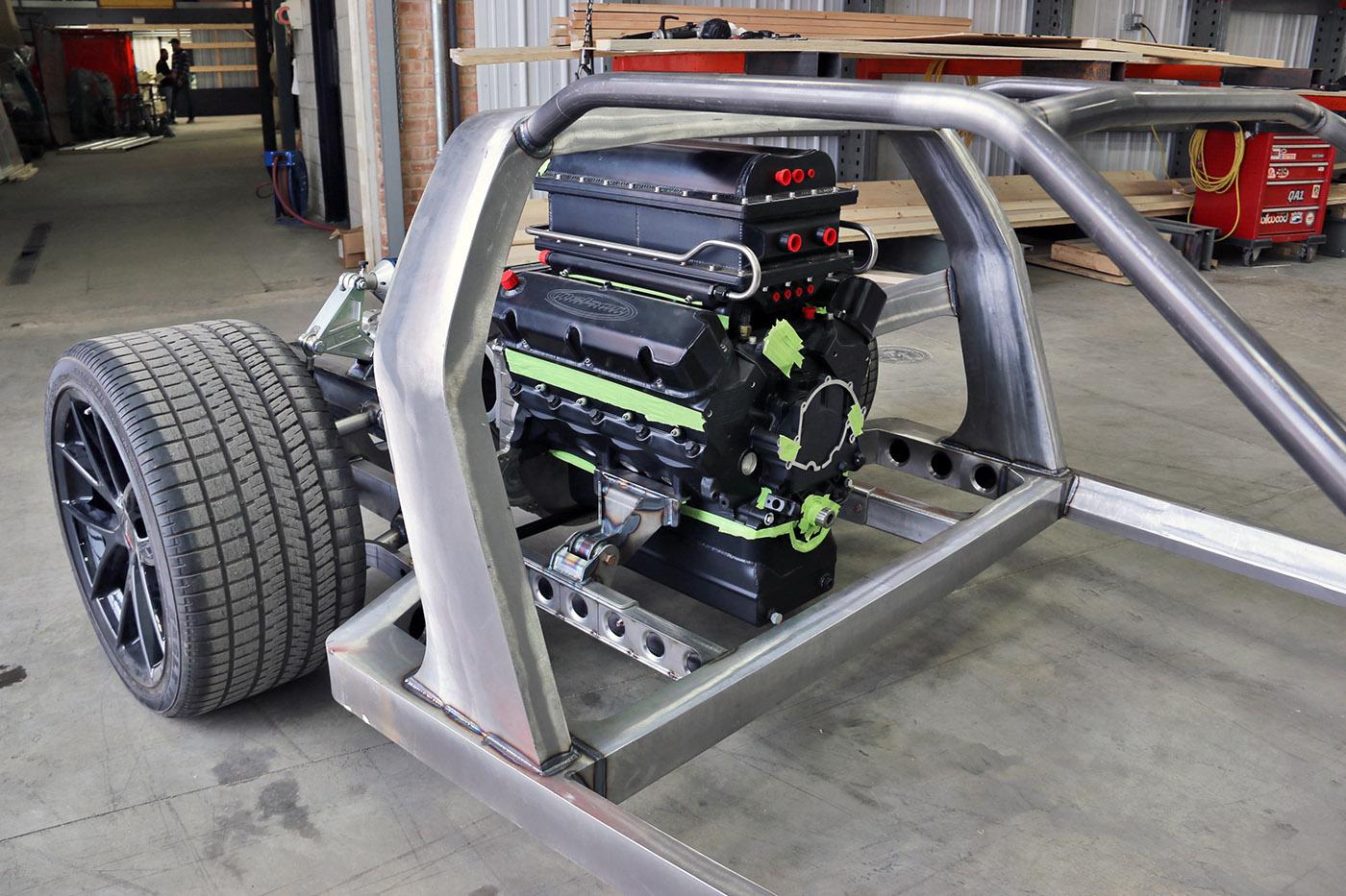 De Tomaso Pantera With A Twin Turbo Ci Windsor V
