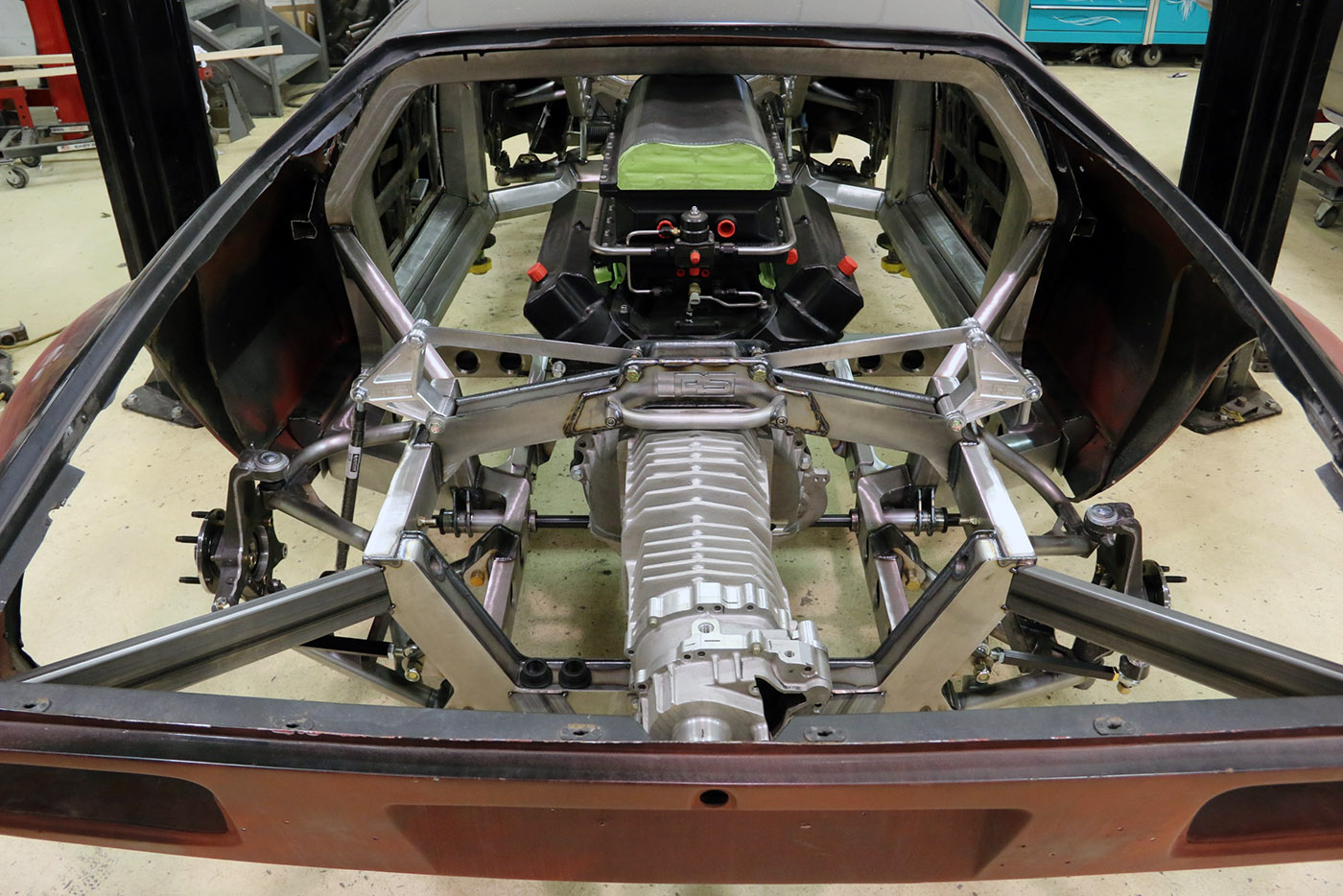 Building A Pantera With A Twin Turbo 428 Windsor