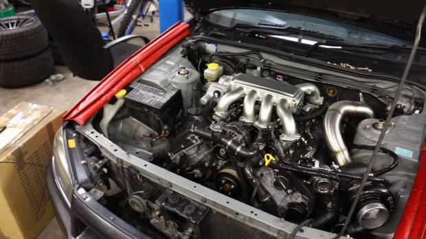 Double Unicorn Nissan Stagea with a Turbo VH41DE Part 12