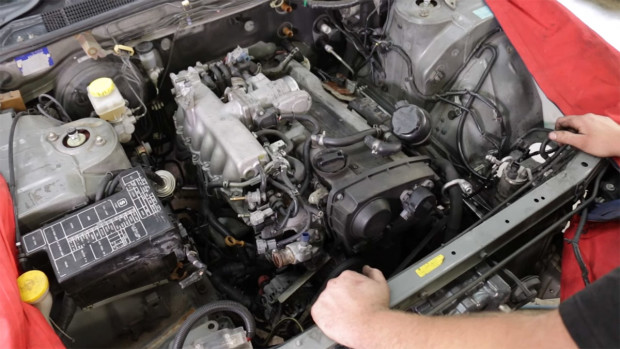 Double Unicorn Nissan Stagea with a Turbo VH41DE Part 8