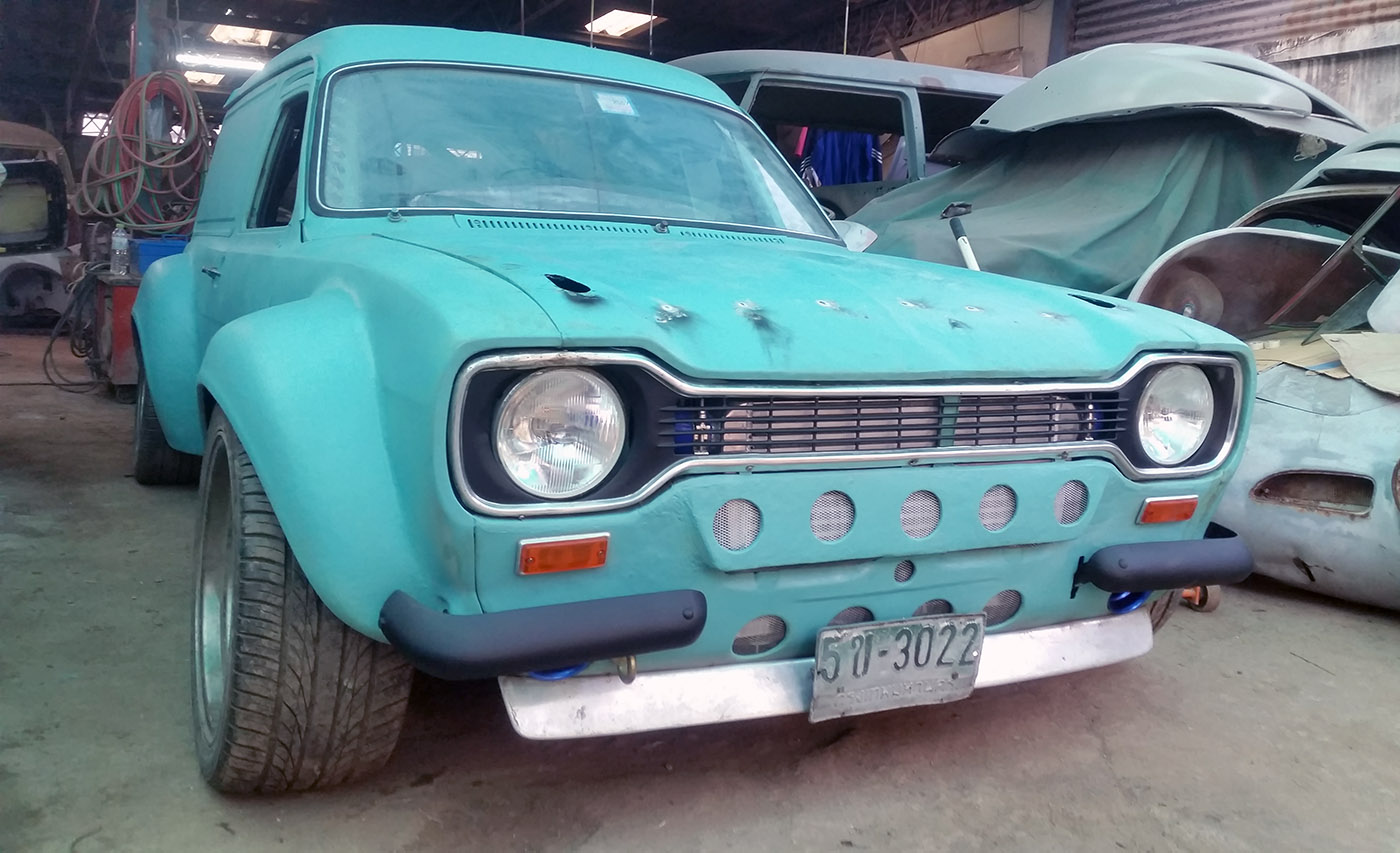 Building a Ford Escort Van with a 2JZ-GTE – Engine Swap Depot