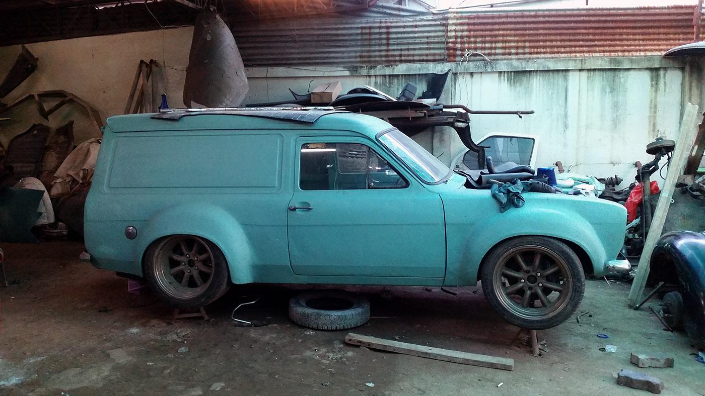 Building A Ford Escort Van With A 2jz Gte Engine Swap Depot