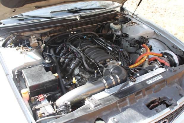 Infiniti J30 with a Turbo LM4 V8