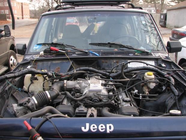 Jeep Cherokee with a 1UZ-FE