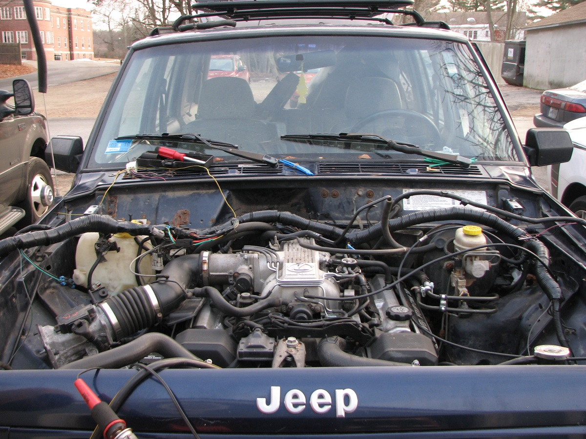 Jeep Cherokee With A 1uz Fe Engine Swap Depot Hood Diagrams