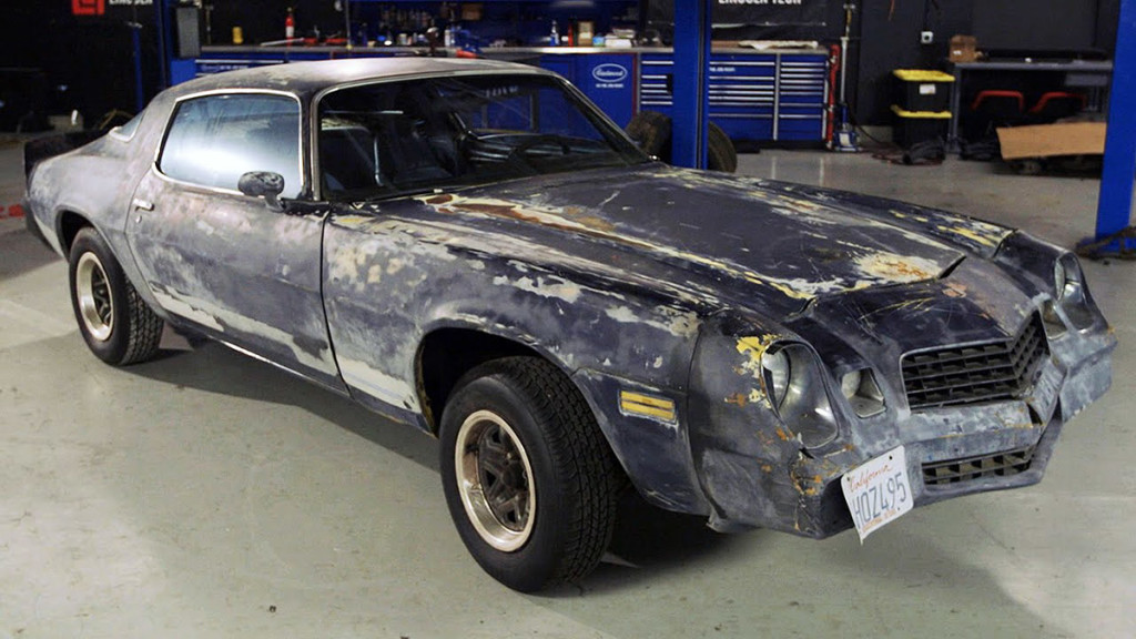Project Bonemaro 1979 Camaro with 5.3 L LM7 V8 Part 1