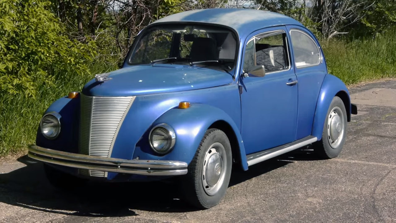Project Bugford Vw Beetle With A Ford Front And A Subaru