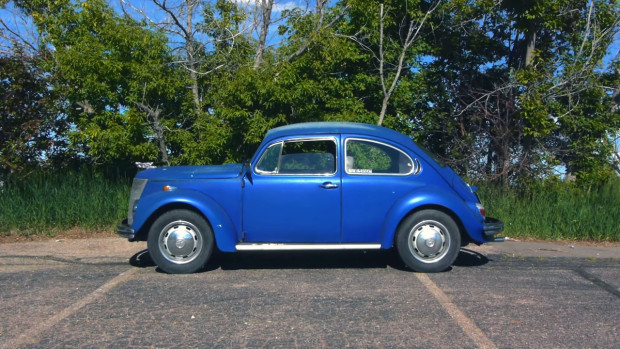 Project Bugford VW Beetle with a 1937 Ford front and a Subaru EJ25/EJ22 engine