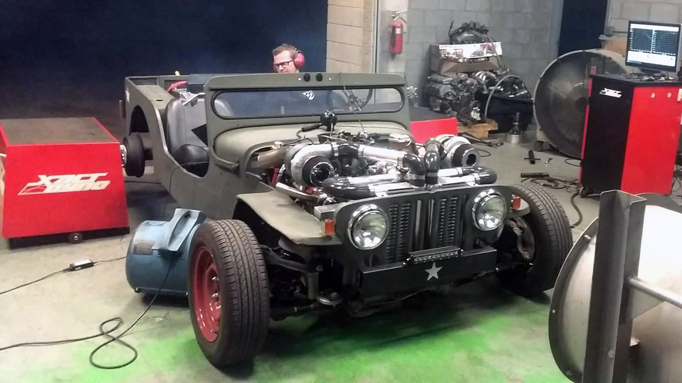 4 3 Vortec Wiring Harness Willys Cj2a Diy Enthusiasts Jeep With A Twin Turbo Lsx Engine Swap Depot Rh Engineswapdepot Com 43 Harmonic Balancer Trailer Tow